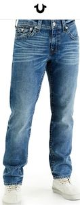 True Religion Rocco Relaxed Skinny Jeans NWT